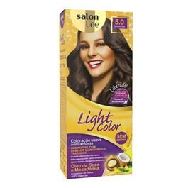 Coloração Salon Line Light Color Castanho Claro 5.0