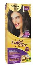 Coloração Salon Line Light Color Castanho Escuro 3.0