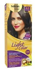 Coloração Salon Line Light Color Castanho Médio 4.0