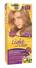 Coloração Salon Line Light Color Louro Claro 8.0