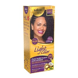 Coloração Salon Line Light Color Preto Violeta Profundo 2.021