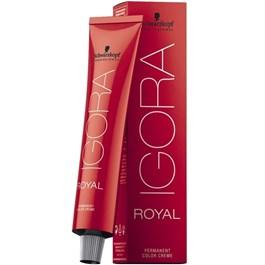 Coloração Schwarzkopf Igora Royal Louro Escuro Cobre Extra 6.77