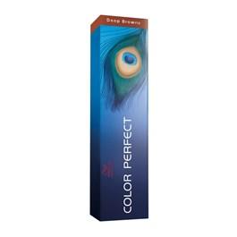 Coloração Wella Color Perfect 60 gr Castanho Médio Marrom Intenso 4.77
