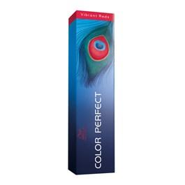 Coloração Wella Color Perfect 60 gr Louro Escuro Vermelho Acaju 6.45