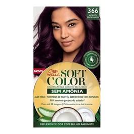 Coloração Wella Soft Color Especial Bourdex 366