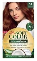 Coloração Wella Soft Color Especial Castanho Acobreado 54