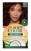 Coloração Wella Soft Color Especial Castanho Avermelhado 457