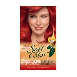 Coloração Wella Soft Color Especial Granada Intenso 7745