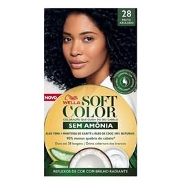 Coloração Wella Soft Color Especial Preto Azulado 28