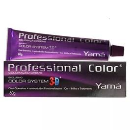 Coloração Yamá Profissional Color System 3D 60 g Louro Médio Dourado 7.31