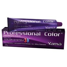 Coloração Yamá Profissional Color System 3D 60 gr Louro Médio Marrom 7.7