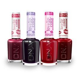 Combo Batom Tinta DNA Italy Love Lip Color 4 Cores