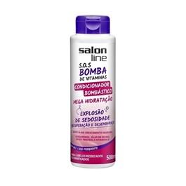 Condicionador Bombástico Salon Line S.O.S Bomba 500 ml Explosão de Sedosidade