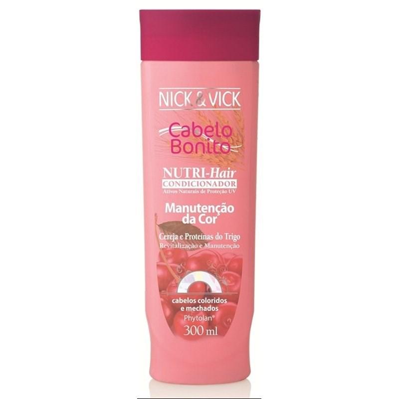 Condicionador Cabelo Bonito Nutri Hair 300 ml Manutenção da Cor