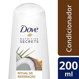 Condicionador Dove Nutritive Secrets 200 ml Ritual de Reparação