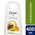 Condicionador Dove Nutritive Secrets 400 ml Ritual de Fortalecimento