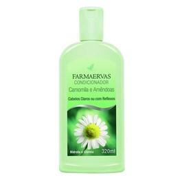 Condicionador Farmaervas 320 ml camomila e Amendoas