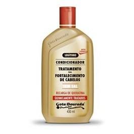 Condicionador Gota Dourada 430 ml Quimicamente Tratados