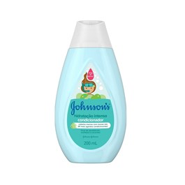 Condicionador Johnson's Baby 200 ml Hidratação Intensa