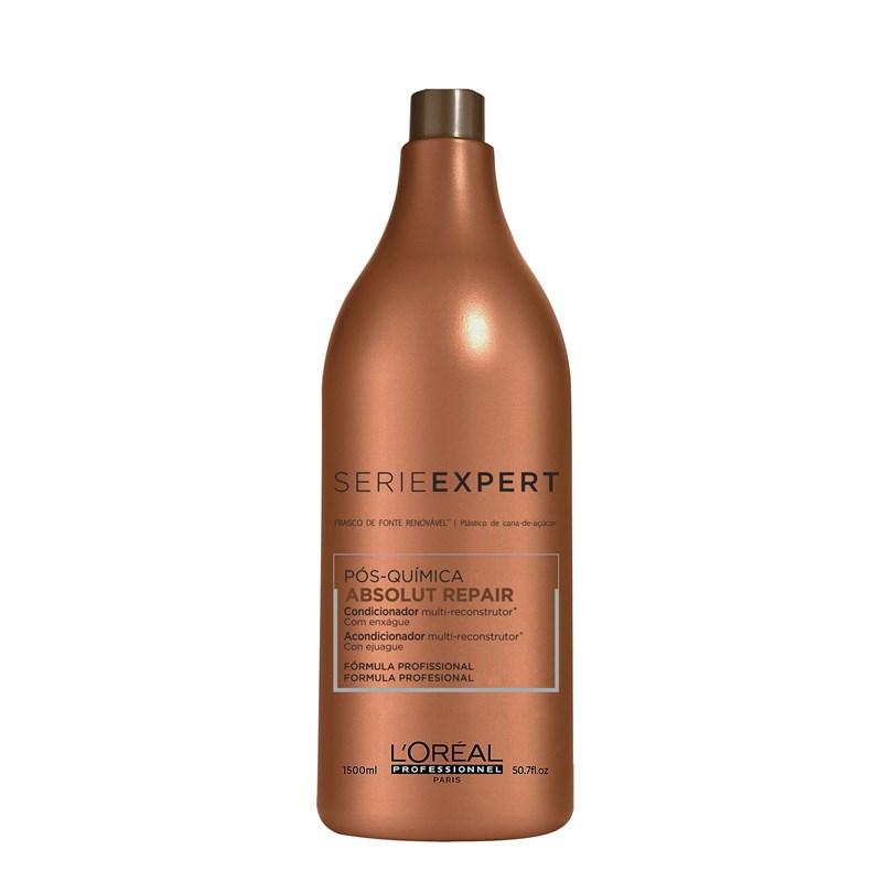 Condicionador L'oréal Professionnel Série Expert 1500 ml Absolut Repair Pós-Química
