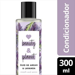 Condicionador Love Beauty & Planet 300 ml Óleo de Argan & Lavanda