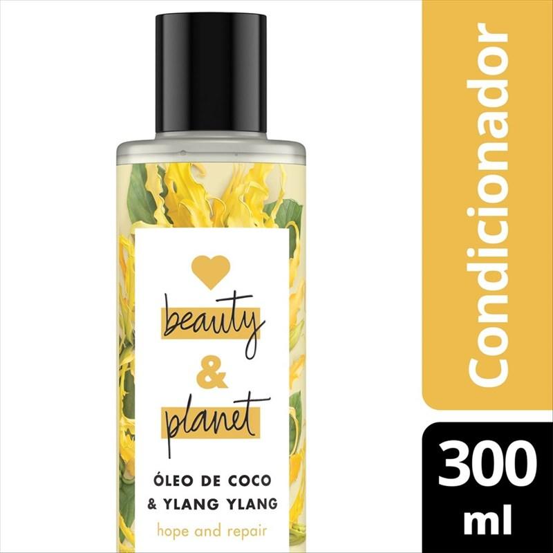 Condicionador Love Beauty & Planet 300 ml Óleo de Coco e Ylang Ylang