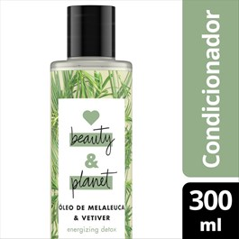 Condicionador Love Beauty & Planet 300 ml Óleo de Melaleuca & Vetiver
