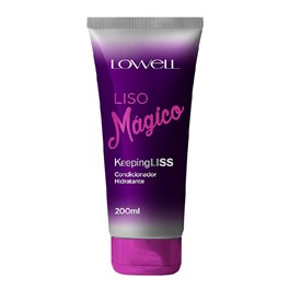 Condicionador Lowell Liso Mágico 200 ml Keeping Liss