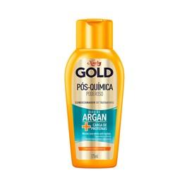Condicionador Niely Gold 200 ml Óleo de Argan Pós Química