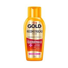 Condicionador Niely Gold 200 ml Queratina Reparação