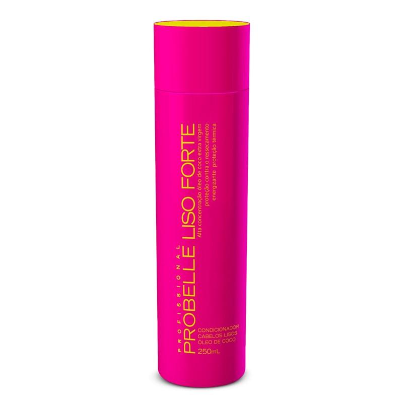 Condicionador Probelle Liso Forte 250 ml Óleo de Coco