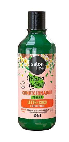 Condicionador Salon Line Maria Natureza 350 ml Leite de Coco & Óleo de Monoi
