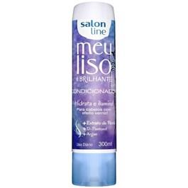 Condicionador Salon Line Meu Liso #Brilhante 300 ml Hidrata e Ilumina!