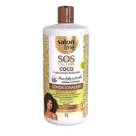 Condicionador Salon Line S.O.S Cachos 1 Litro Coco