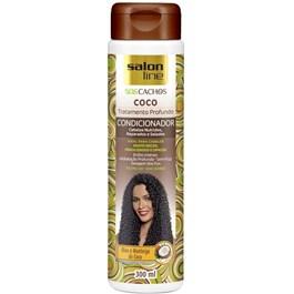 Condicionador Salon Line S.O.S Cachos 300 ml Coco