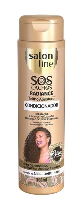Condicionador Salon Line S.O.S Cachos 300 ml Radiance Brilho Absoluto