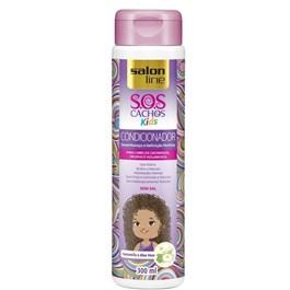 Condicionador Salon Line S.O.S Cachos Kids 300 ml Desembaraço e Definição