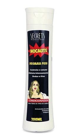 Condicionador Secrets Nocaute 300 ml Desmaia Fios
