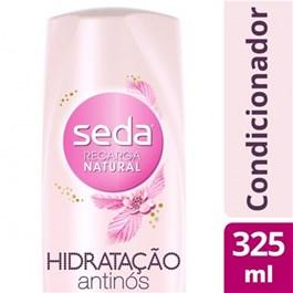 Condicionador Seda Recarga Natural 325 ml Hidratação Antinós