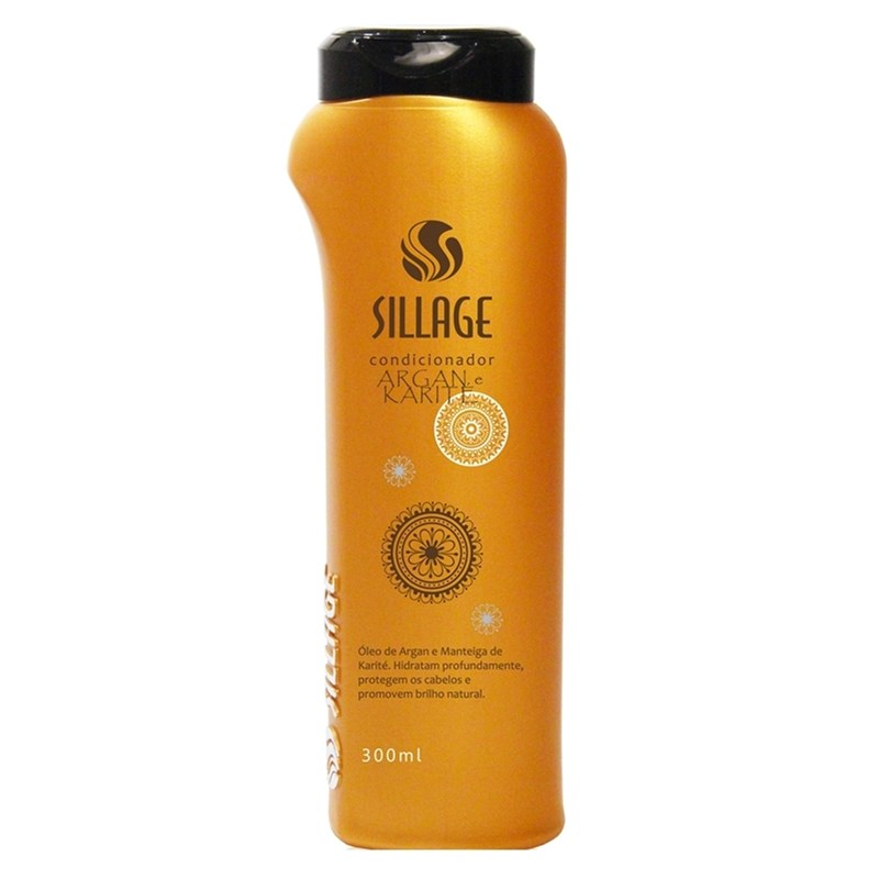 Condicionador Sillage 300 ml Argan e Karité