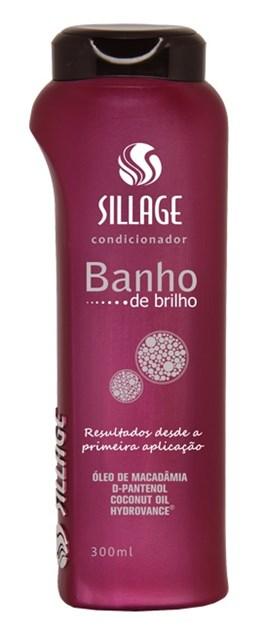 Condicionador Sillage 300 ml Banho de Brilho
