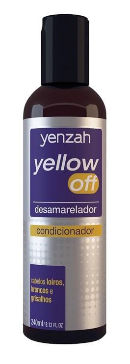 Condicionador Yenzah Yellow Off 240 ml Desamarelador