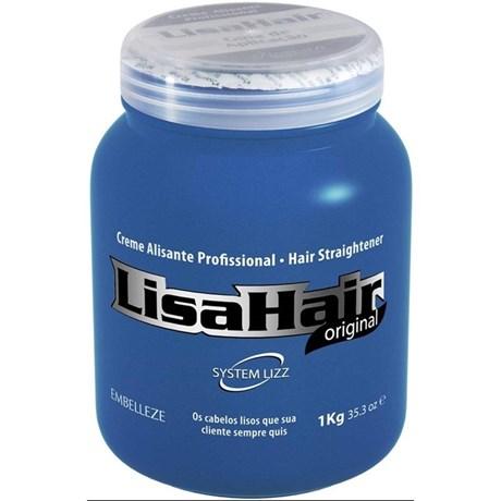 Creme Alisante Profissional Embelleze 1 kg Lisahair