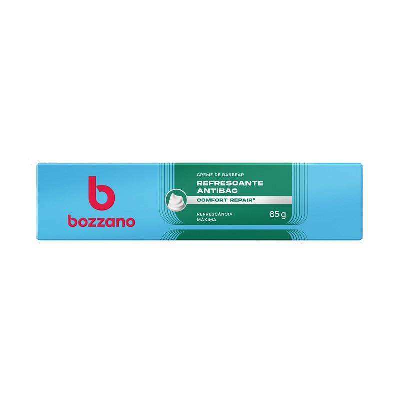 Creme de Barbear Bozzano 65 gr Refrescante Antibac