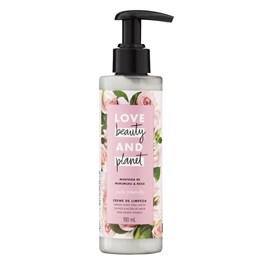 Creme de Limpeza Love Beauty And Planet 190 ml Manteiga de Murumuru & Rosas