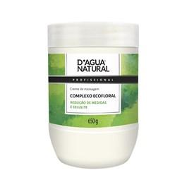Creme de Massagem D'Agua Natural 650 gr Complexo Ecofloral