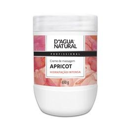 Creme de Massagem D'Agua Natural Apricot 650 gr