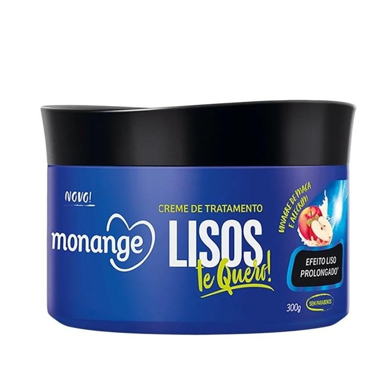 Creme de Tratamento  Monange 300 gr Lisos Radiantes
