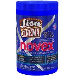 Creme de Tratamento Novex Liso de Cinema 400 gr Você é a Estrela