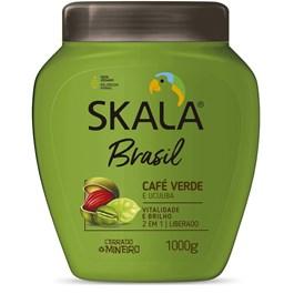 Creme de Tratamento Skala Brasil 1000 gr Café Verde